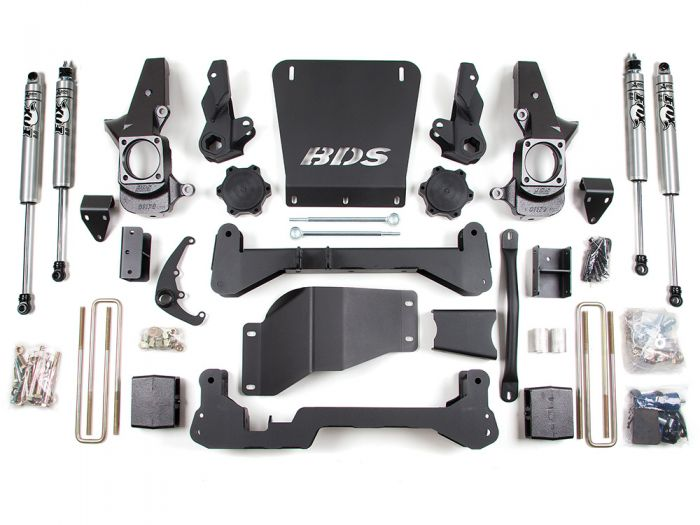 BDS 189H Chevy Silverado 1500 7 inch Lift Kit