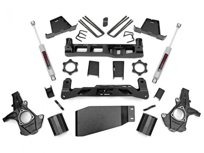 Rough Country 26430 7.5 inch Chevy Silverado 1500 4WD Lift Kit