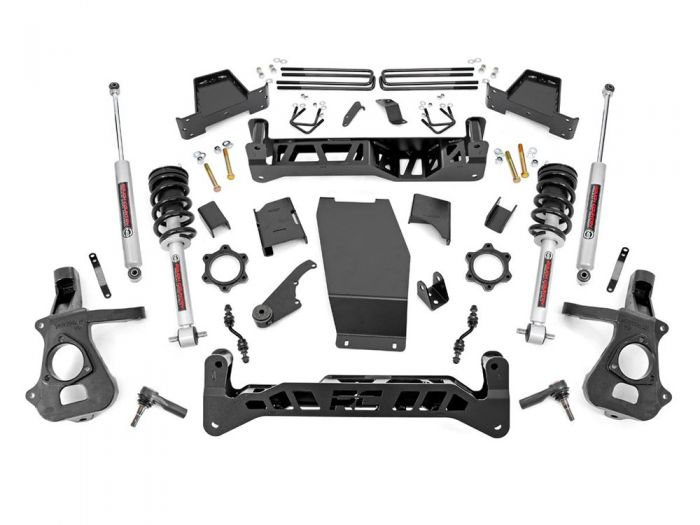 Rough Country 22833 7 inch Chevy Silverado 1500 4WD Lift Kit