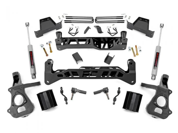 Rough Country 23732 7 inch Chevy Silverado 1500 2WD Lift Kit