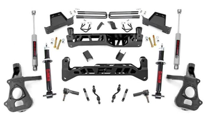 Rough Country 18733 7 inch Chevy Silverado 1500 2WD Lift Kit