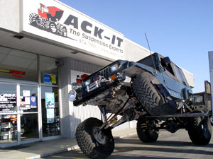 Jack-It, The Suspension Experts